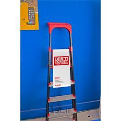 نردبان آلومینیومی 5 پله جعبه ابزار دار الماس