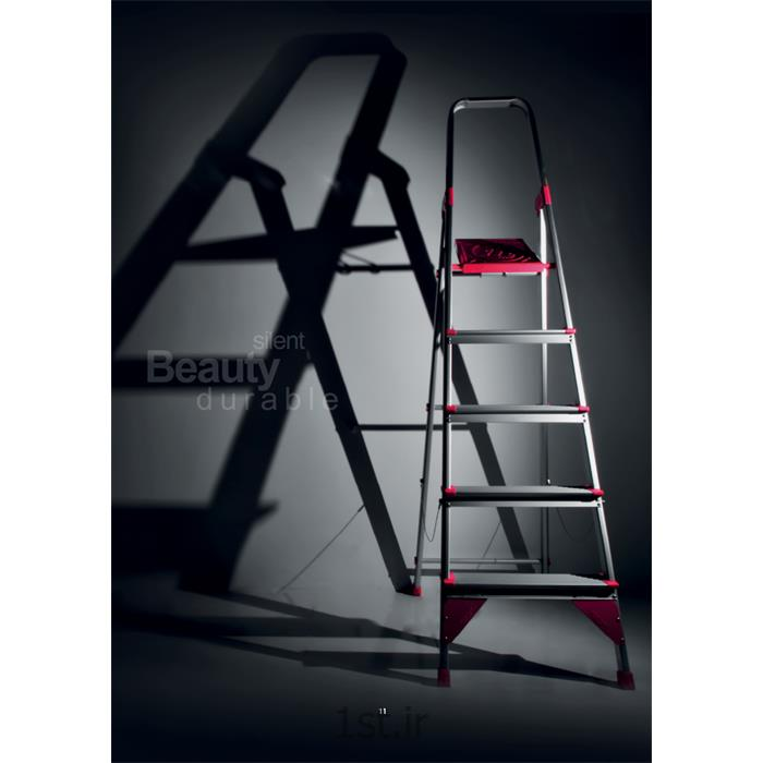 نردبان آلومینومی 5 پله خانگی اطلس<