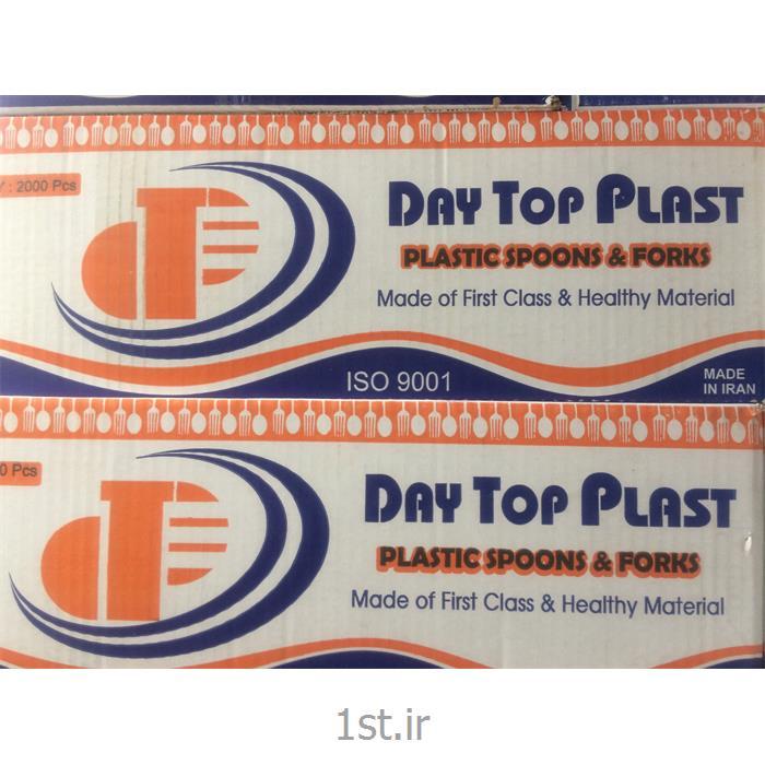 عکس سایر محصولات پلاستیکیقاشق یکبار مصرف سبک شفاف