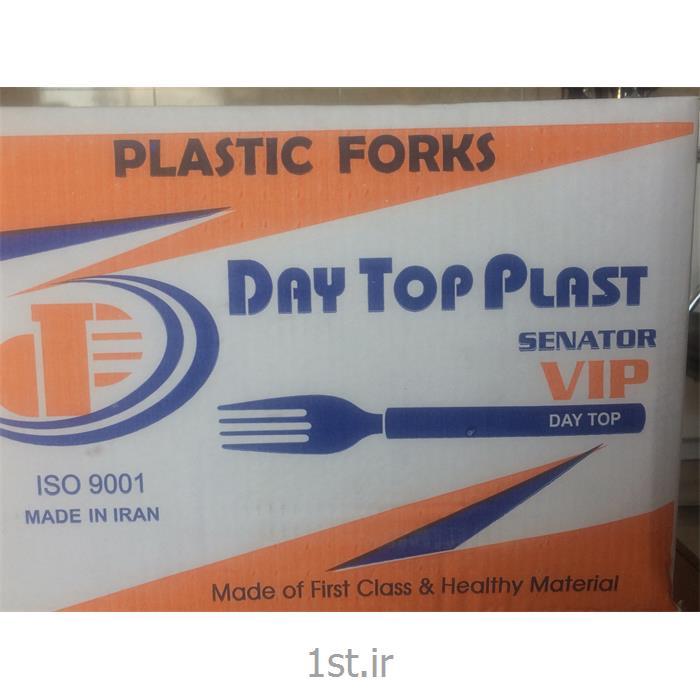 عکس سایر محصولات پلاستیکیچنگال یکبار مصرف VIP