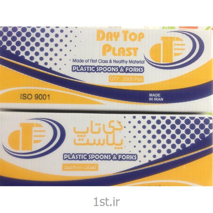 عکس سایر محصولات پلاستیکیچنگال یکبار مصرف سبک شیری