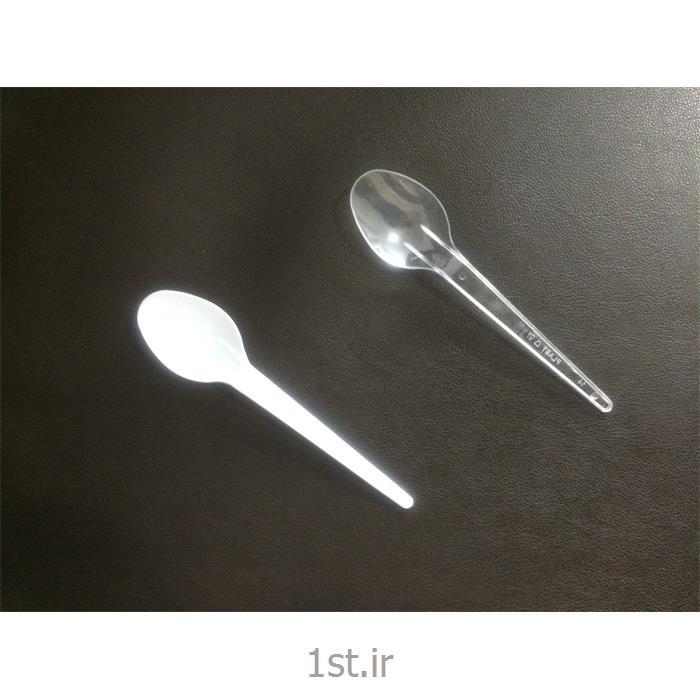 عکس سایر محصولات پلاستیکیقاشق یکبار مصرف سبک شیری