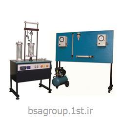 دستگاه تعیین مقاومت سه محوری خاک