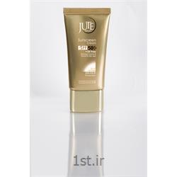 کرم ضدآفتاب ژوت مخصوص پوست چرب رنگ بژ روشن sunscreen cream SPF 50