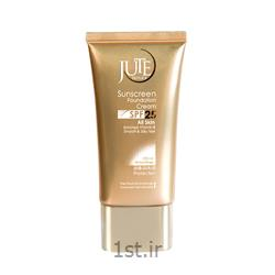 عکس کرم ضد آفتابکرم ضد آفتاب کرم پودری ژوت بژطبیعی SPF 25 Sunscreen cream
