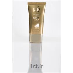 کرم ضد آفتاب  ژوت SPF50  انواع پوست بی رنگ sunscreen cream SPF50 ALL