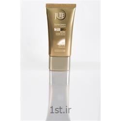 کرم ضدآفتاب ژوت انواع پوست بژطبیعی sunscreen cream  SPF50