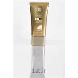 عکس کرم ضد آفتابکرم ضد آفتاب ژوت انواع پوست بژ طبیعی sunscreen cream  SPF50
