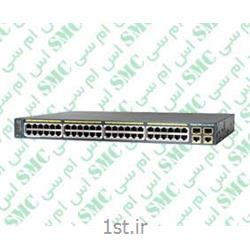 عکس سوئیچ شبکهسوئیچ شبکه سیسکو مدل WS-C2960-48PST-L