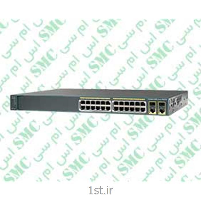 سوئیچ شبکه سیسکو مدل WS-C2960-24PC-L