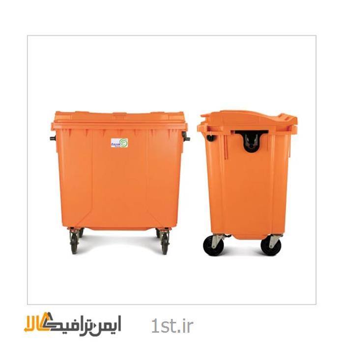 عکس سطل زباله (سطل آشغال)سطل زباله بزرگ چرخ دار RS-19