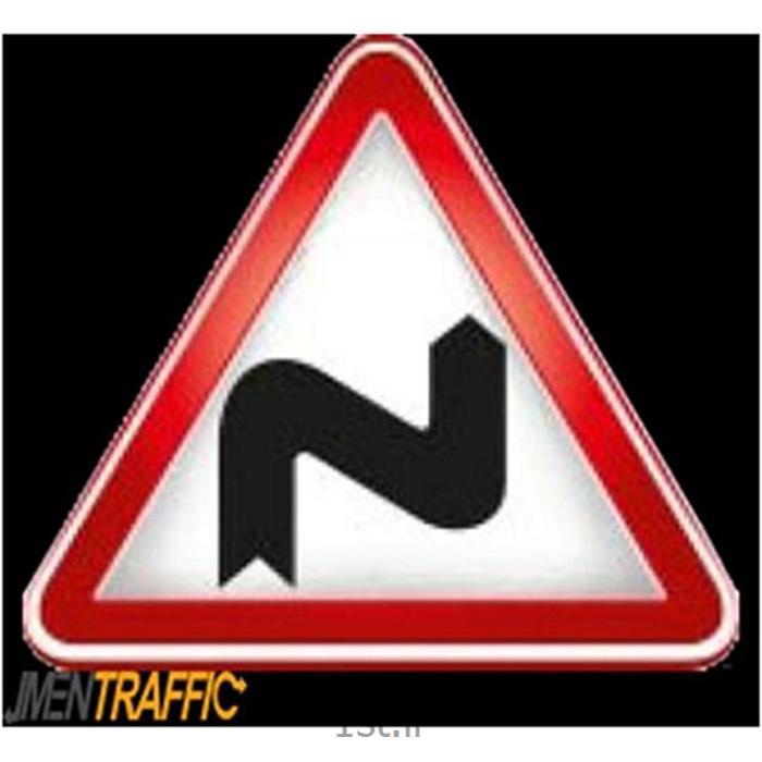 تابلو ترافیکی فریم دار مثلث ارتفاع 75 MO-306