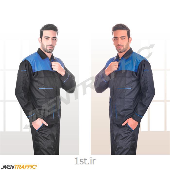 عکس لباس کارلباس کار مهندسی دو رنگ