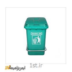 سطل زباله پدالی،پلاستیکی بیمارستانی