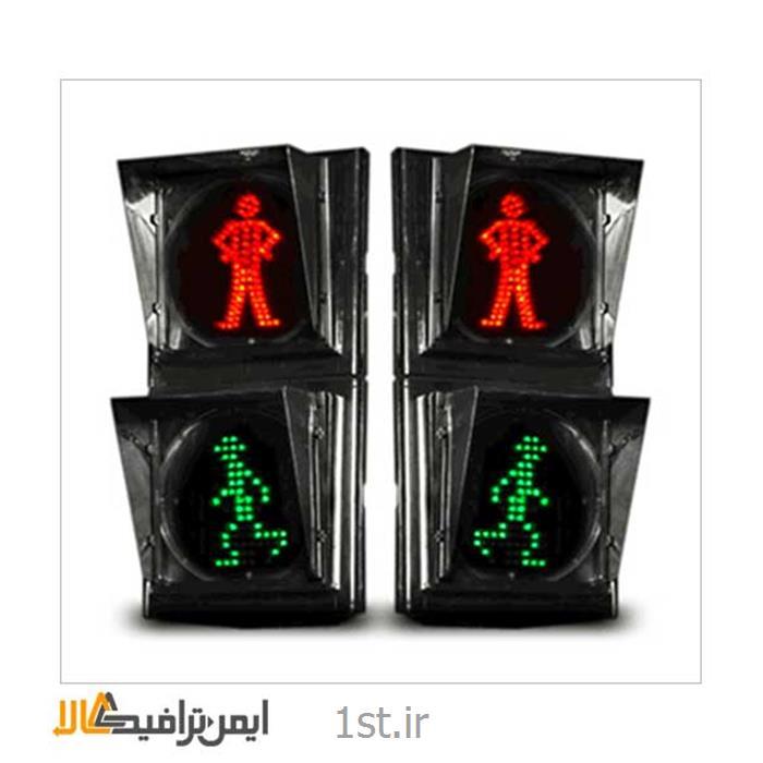 عکس چراغ راهنماییچراغ راهنمایی عابر پیاده متحرک L-005
