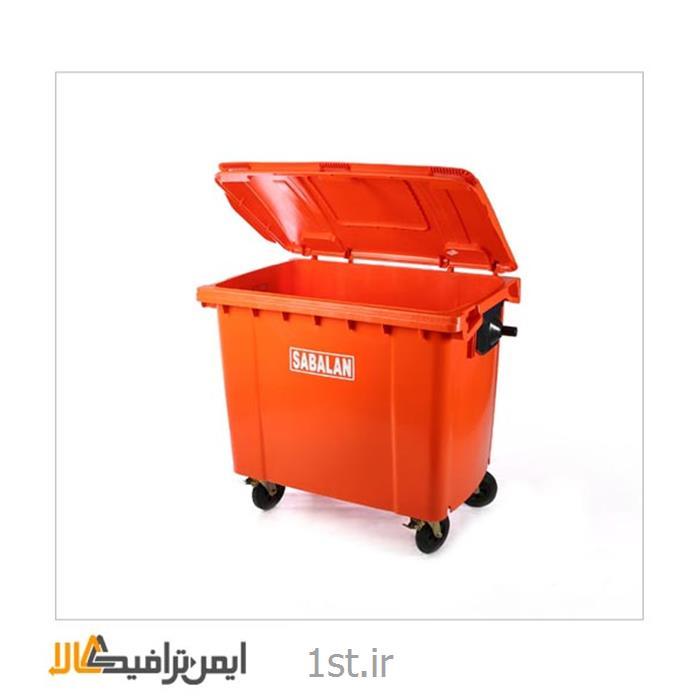 عکس سطل زباله (سطل آشغال)سطل زباله چرخدار شهرداری بزرگ SP-2