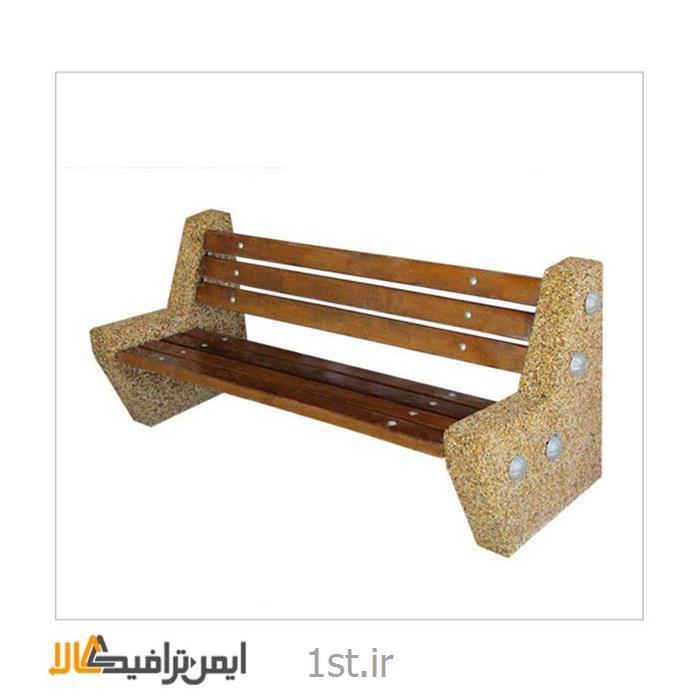 نیمکت پارکی چوبی Es-111