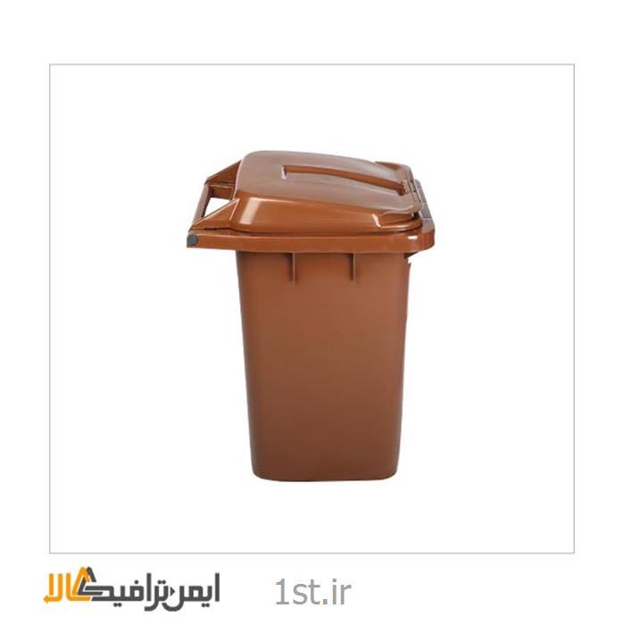 عکس سطل زباله (سطل آشغال)سطل زباله پلاستیکی، پدالی بیمارستانی SP-14