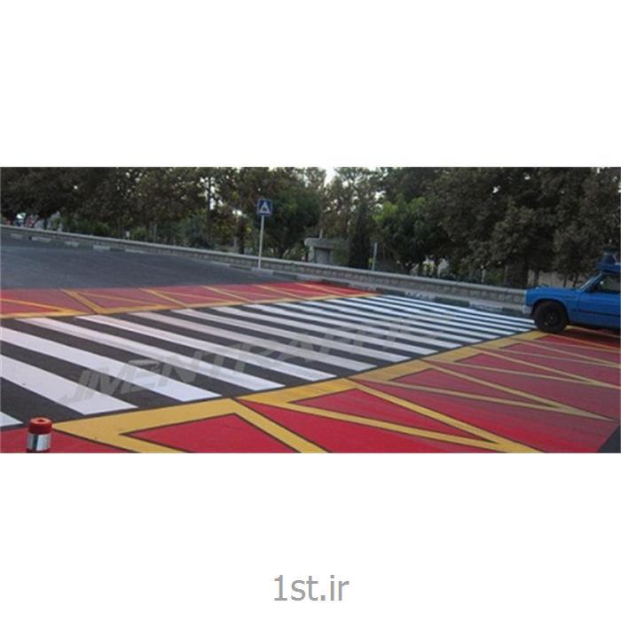عکس رنگ و پوشش صنعتیرنگ ترافیکی دو جزئی سفید ممتاز SSA-107