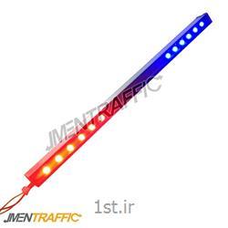 عکس سایر تجهیزات پلیسی و نظامیپلیس مجازی LED برقی 100 سانت دو طرفه ME-2006