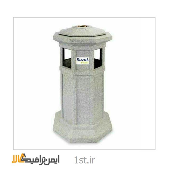عکس سطل زباله (سطل آشغال)سطل زباله مدرن شهری RS-21