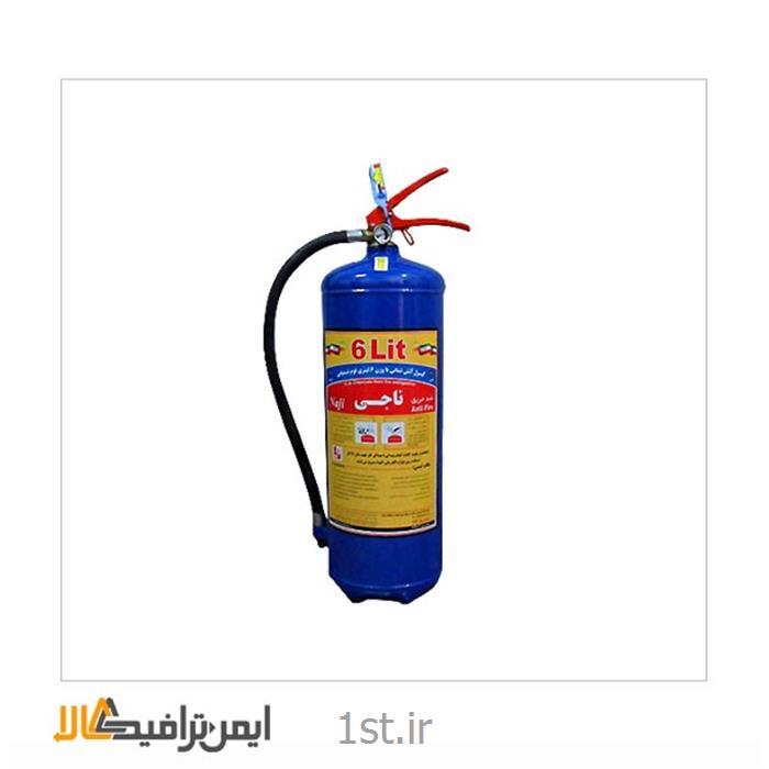 کپسول آتش نشانی فوم و گاز 6 لیتری