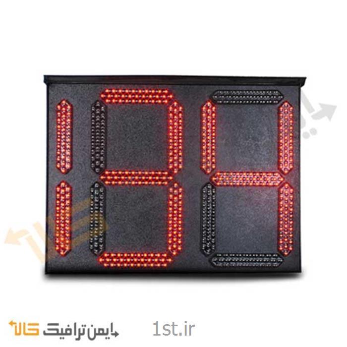 عکس چراغ راهنماییمعکوس شمار ترافیکی LED سه رقمی L-002