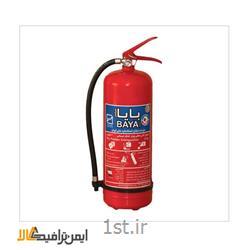 کپسول آتش نشانی پودر و گاز وزن 6 کیلو گرم BS-110