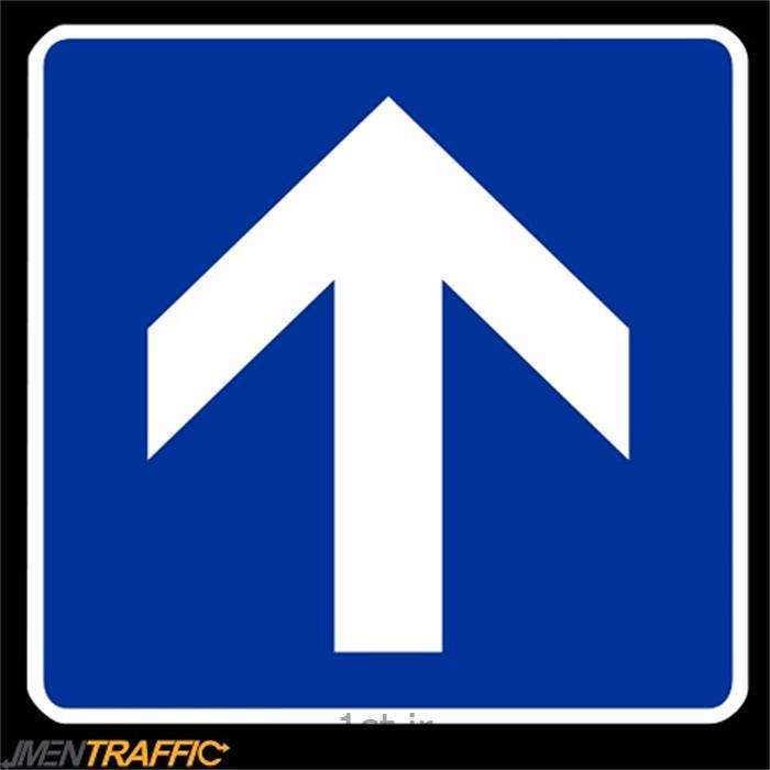 عکس علائم راهنماییتابلو ترافیکی مربع 60*60  MO-312