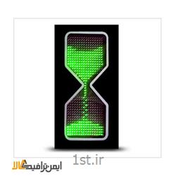 شمارنده ترافیکی LED ساعت شنی L-004