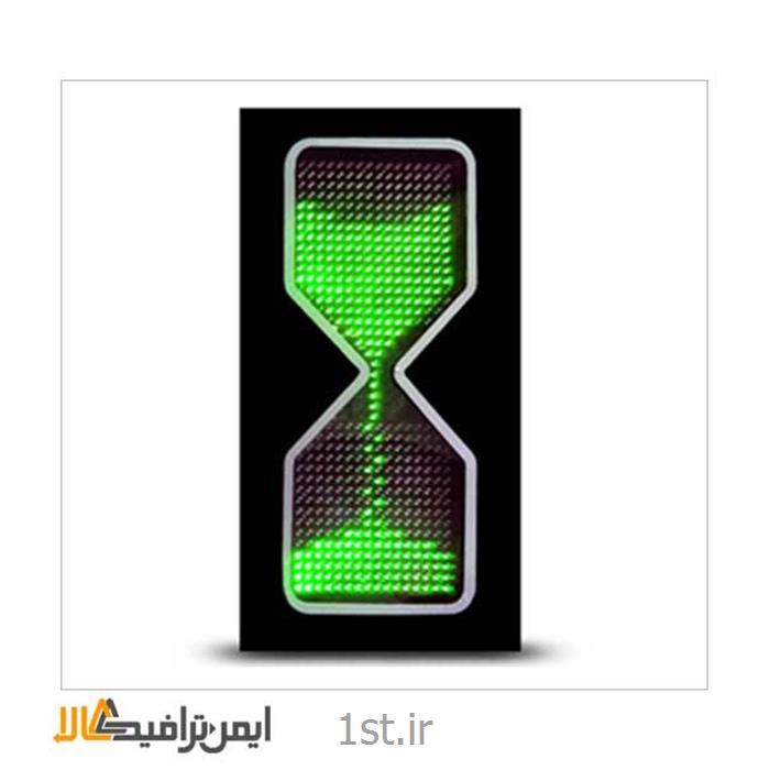 عکس چراغ راهنماییشمارنده ترافیکی LED ساعت شنی L-004