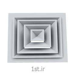 دریچه سقفی چهار طرفه بر جسته کد 1022