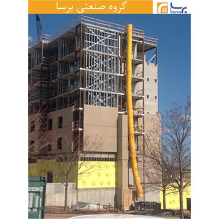 عکس سایر مصالح ساختمانی پلاستیکیسیستم شوتینگ نخاله ساختمانی 02