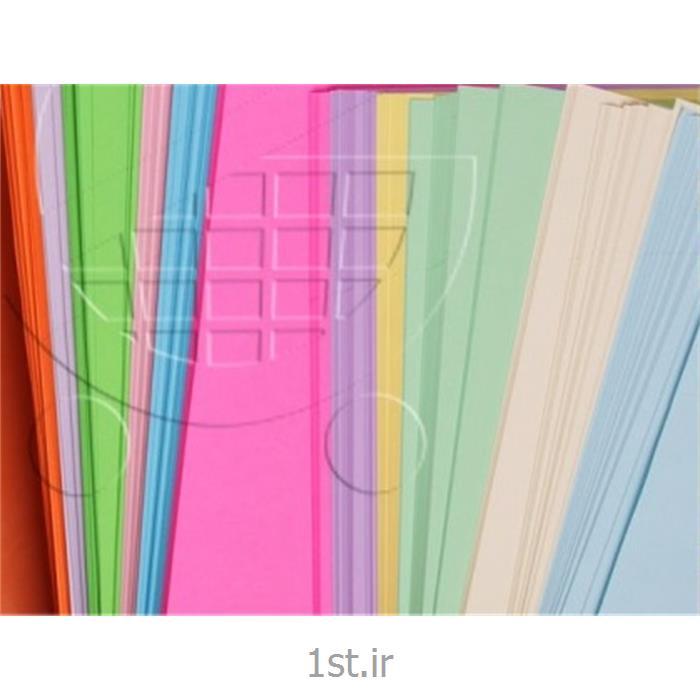 عکس سایر کاغذ های اداریکاغد الوان رنگی در رنگ صورتی