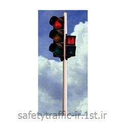 چراغ راهنمایی LED کامل پایه ترافیکی