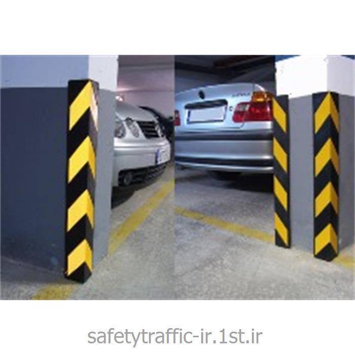 محافظ ستون ضربه گیر لاستیکی ترافیکی