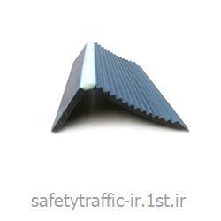 نبشی پله لاستیکی ضد لغزنده قوی مدل PVC-05