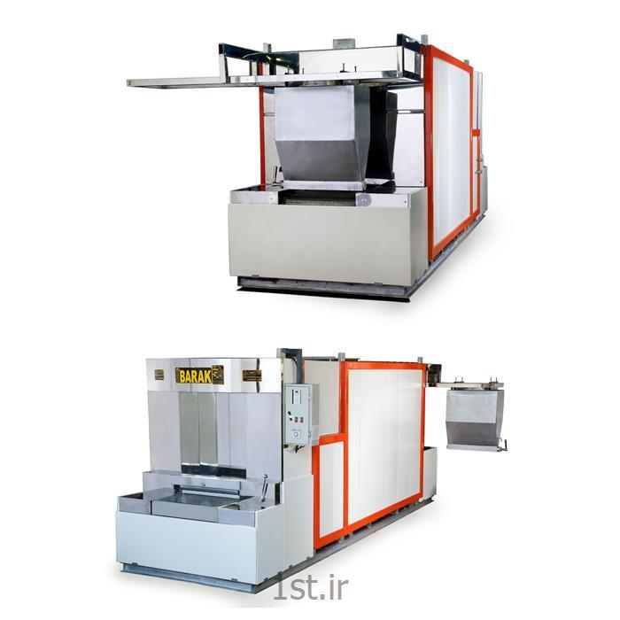 عکس ماشین آلات تولید نانفر تونلی پخت نان بربری اتوماتیک