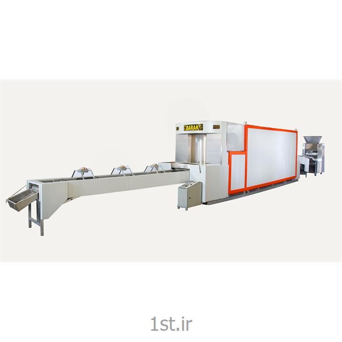 عکس ماشین آلات تولید نانفر تونلی نان لواش اتوماتیک