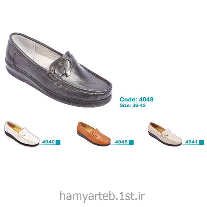 کفش طبی زنانه چرم کد 4049 تن یار :: Tanyar -فروش همیار طب کسری ...کفش طبی زنانه چرم کد 4049 تن یار :: Tanyar<