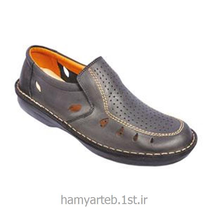 کفش طبی مردانه تمام چرم مدل 5049 تن یار :: Tanyar