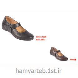 کفش طبی زنانه چرم کد 4229 تن یار :: Tanyar