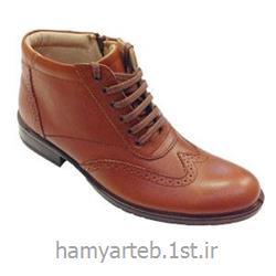 عکس سایر کفش هاکفش طبی ساق بلند تمام چرم مدل ۵۲۲۵ مردانه تن یار :: Tanyar