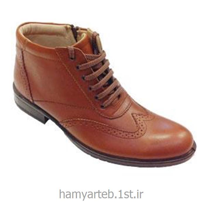 کفش طبی ساق بلند تمام چرم مدل ۵۲۲۵ مردانه تن یار :: Tanyar