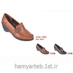 کفش طبی زنانه چرم کد 4245 تن یار :: Tanyar