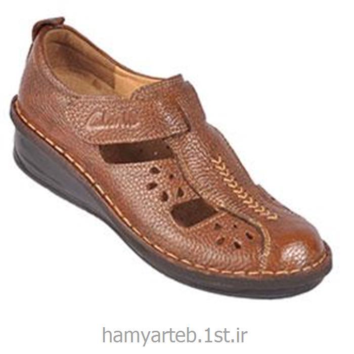 کفش طبی زنانه چرم کد 4215 تن یار :: Tanyar