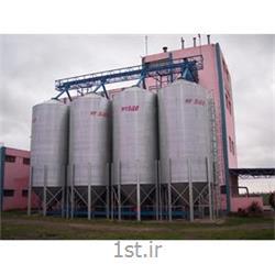 سیلو فلزی ذخیره غلات