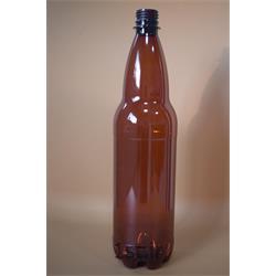 بطری پت قهوه ای 1 لیتری دلستر