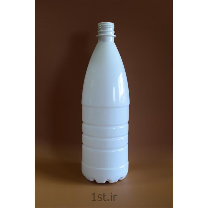 عکس سایر محصولات پلاستیکیبطری شیر ا لیتری سفید