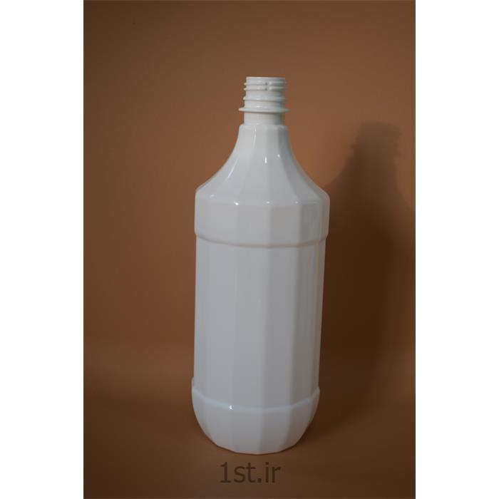 عکس سایر محصولات پلاستیکیبطری پلاستیکی پت سفید و شفاف 1 لیتری